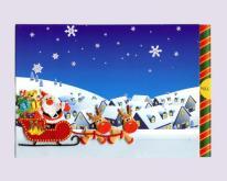 刺繡伸縮聖誕卡