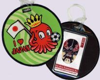 刺繡行李吊牌-可放置悠遊卡