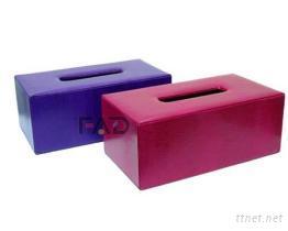 蜥蜴紋面紙盒