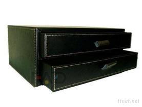 二抽式收納盒
