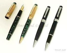 钢笔, 原子笔, 笔组