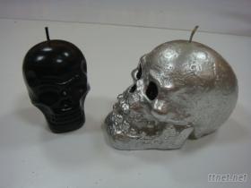 骷髏頭精油蠟燭
