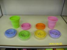 折疊式矽膠環保杯