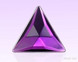 三角型压克力水钻 S