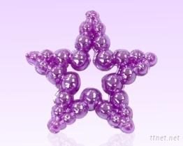 壓克力服飾配件 綜合型體 -星星