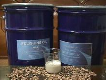乾式竹片磨光油 (蠟) 轆桶油