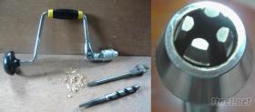 4爪手搖鑽(Four-jaw hand tool drill)