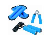 沙包、握力器、跳繩(三合一)