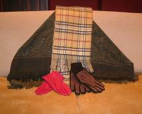 庫存-圍巾/手套/披肩