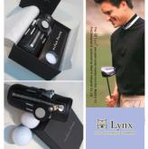 Lynx 三入高尔夫球随身皮套组