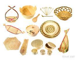 蒸籠竹編製品