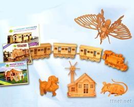 3D益智組合玩具