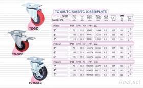 工業/中荷重型腳輪
