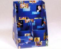 产品展示盒, 陈列架
