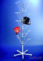 20頂帽架-白色, 安全帽展示架