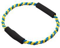 二條編織圓型拉力繩