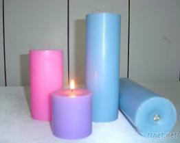 圓柱型蠟燭