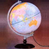 行政夜光地球儀