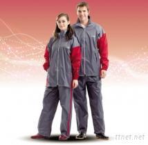 達新牌新帥型套裝式雨衣