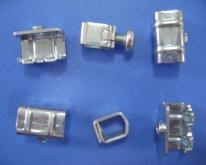 Clamp part for gland plate