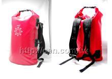 高週波防水PVC袋-15公升, 沙灘袋, 防水背包, 防水袋