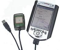 PDA GPS接收器