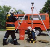 三角架绳索救援系统