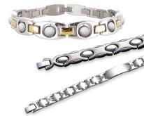 鈦+能量陶瓷珠健康手鍊