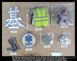 反光標(刺繡,胸針,吊飾)