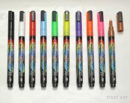 萤光粉彩笔(擦擦笔)