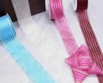雪紗提花緞帶