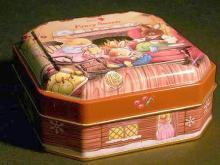 多角罐(餅乾盒)