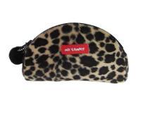 豹紋毛球小錢包