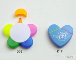 五花瓣/心型螢光筆