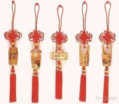 中國結 竹藝 小吊飾
