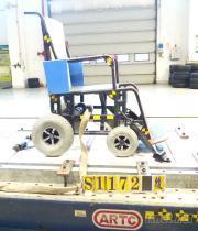 轮椅固定安全带