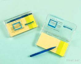 專利新產品-便利貼萬年曆便條盒