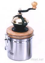 不鋼咖啡研磨罐
