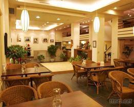 優雅的室內餐廳