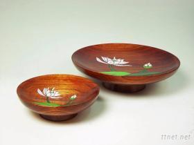 手工雕刻水果盤