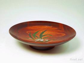 1尺1 蘭花果盤