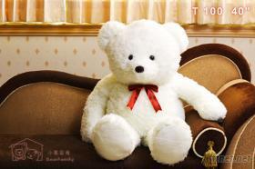 100CM泰迪熊填充玩偶