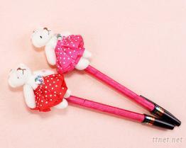 泰迪熊原子筆