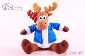 聖誕麋鹿-填充玩具