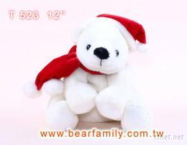 圣诞北极熊