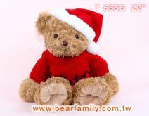 聖誕泰迪熊