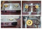 二口不鏽鋼瓦斯爐