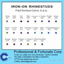 色卡P. 1-2 - 环保八角铝烫片颜色
