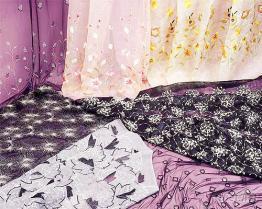 刺繡花邊布