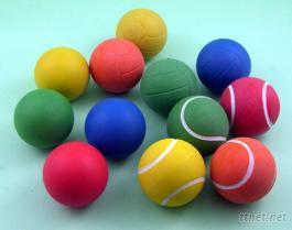 橡胶发泡宠物球-1